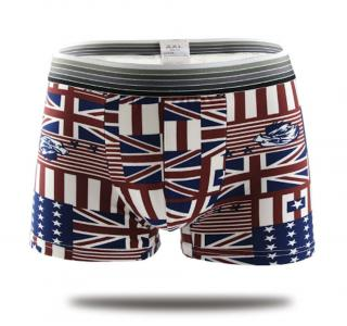Moderní pánské boxerky England Velikost: XS