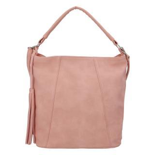 Módní dámská kabelka růžová - Carine Baylee dámské