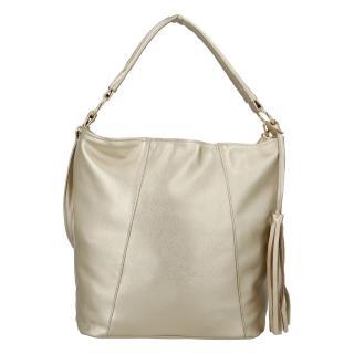 Módní dámská kabelka zlatá - Carine Baylee dámské
