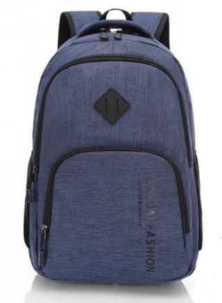 Módní studentský batoh - 3 barvy Barva: modrá