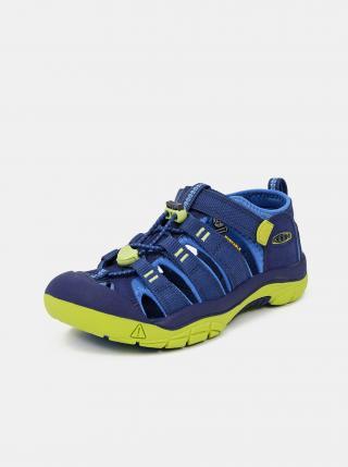 Modré dětské sandály Keen modrá 34