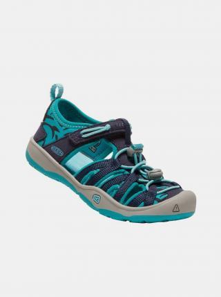 Modré dětské vzorované sandály Keen modrá 24