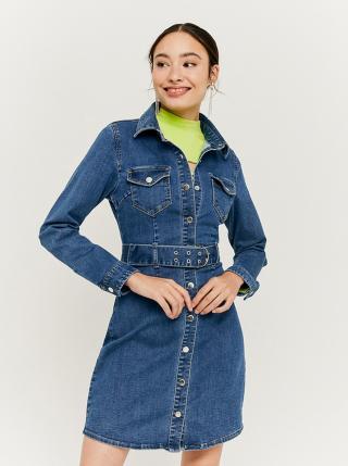 Modré džínové košilové šaty TALLY WEiJL dámské modrá M