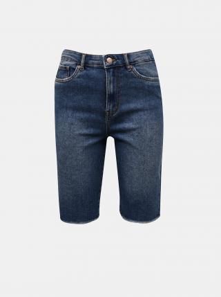 Modré džínové kraťasy VERO MODA Loa dámské modrá XS
