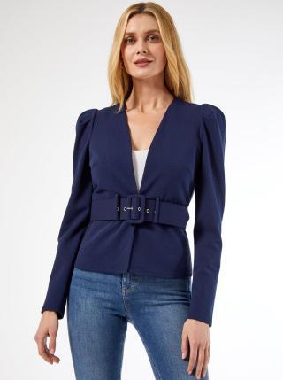 Modré sako s páskem Dorothy Perkins dámské modrá XXL