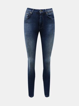 Modré skinny fit džíny ONLY - M dámské modrá M