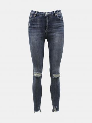 Modré skinny fit džíny TALLY WEiJL - XL dámské modrá XL