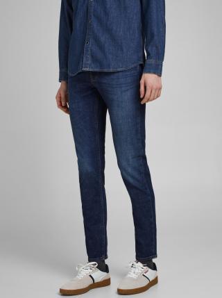 Modré slim fit džíny Jack & Jones Glenn pánské modrá M