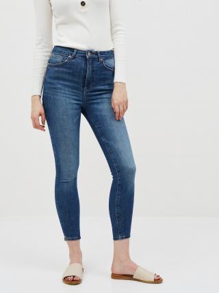 Modré zkrácené skinny fit džíny ONLY Gosh dámské modrá XS