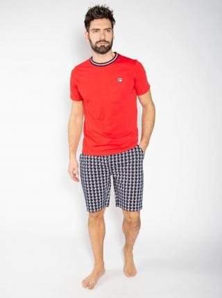 Modro-červené pánské pyžamo FILA pánské červená XL