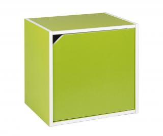 Modulární díl Cube Door Green Zelená