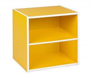 Modulární díl Cube Dual Yellow Žluta & Zlatavá