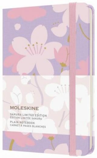 Moleskine Zápisník Sakura čistý S