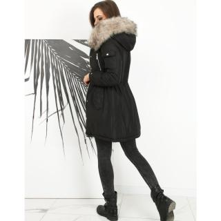 MOLLY womens parka jacket, black TY1591 dámské Neurčeno L