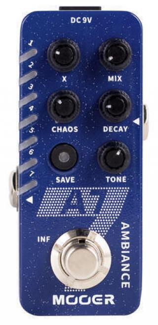 MOOER A7 Ambiance Ambient Reverb Dark Blue