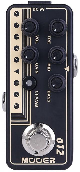 MOOER Micro PreAmp 012 Fried-Mien