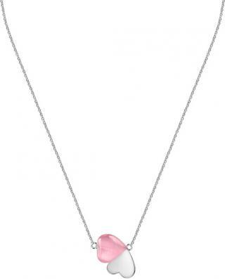 Morellato Romantický stříbrný náhrdelník s kočičím okem Cuore SASM10