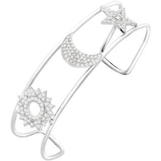 Morellato Třpytivý stříbrný náramek se zirkony Michelle SAHP03 dámské