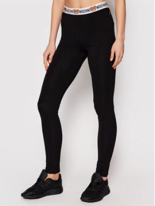 MOSCHINO Underwear & Swim Legíny ZUA4311 9003 Černá Slim Fit dámské S