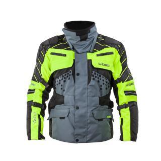 Moto Bunda W-Tec Astair  Černo-Šedo-Zelená  M M