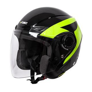 Moto Helma W-Tec Nankko Black-Fluo  Xs