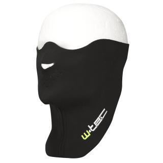 Moto Nákrčník S Ochranou Obličeje W-Tec Zoro černá