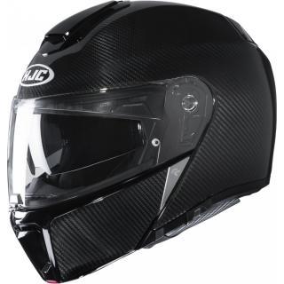 Moto přilba HJC RPHA 90S Carbon Solid Black P/J  L