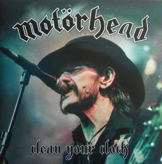 Motörhead Clean Your Clock  Black
