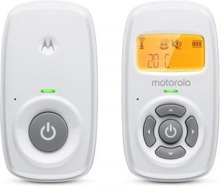 MOTOROLA MBP 24 Dětská audio chůvička bílá