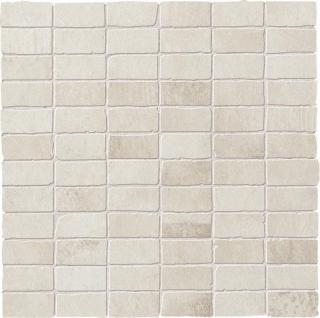 Mozaika Dom Entropia bianco 30x30 cm mat DEN10MM béžová bianco