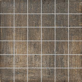 Mozaika Dom Khadi oil 33x33 cm mat DKHX90 hnědá oil