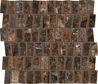 Mozaika Dom Mun rust perfect 30x32 cm pololesk DMUMP50 hnědá rust