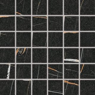 Mozaika Fineza Vision černá 30x30 cm mat DDM06389.1 černá černá