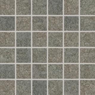 Mozaika Rako Ground šedá 30x30 cm mat WDM05537.1 šedá šedá