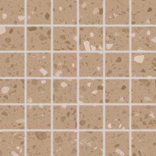 Mozaika RAKO Porfido okrová 30x30 cm mat / lesk DDM06814.1 oranžová okrová