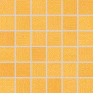 Mozaika Rako Trinity oranžová 30x30 cm lesk WDM05094.1 oranžová oranžová
