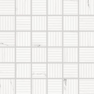 Mozaika RAKO Vein bílá 30x30 cm lesk WDR06133.1 bílá bílá