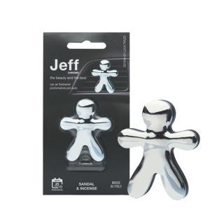Mr&Mrs Fragrance Jeff Chrome Sandal & Incense - vůně do auta