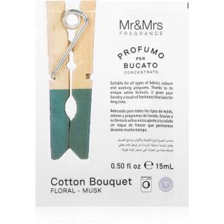 Mr & Mrs Fragrance Laundry Cotton Bouquet koncentrovaná vůně do pračky 15 ml 15 ml