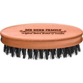 Mr Bear Family Grooming Tools cestovní kartáč na vousy pánské