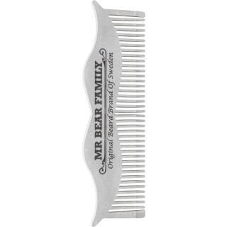 Mr Bear Family Grooming Tools ocelový hřeben na vousy pánské