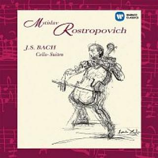 Mstislav Rostropovich – Bach: Suites for Solo Cello Nos 1 - 6