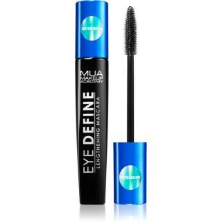 MUA Makeup Academy Eye Define voděodolná řasenka pro prodloužení řas odstín Black 12 ml dámské 12 ml