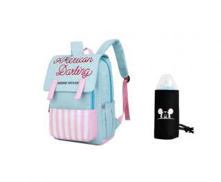 Multifunkční batoh pro maminky Barva: světle modrá