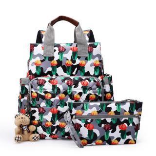 Multifunkční přebalovací batoh s doplňky Varianta: 4