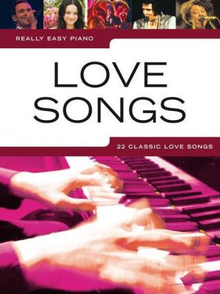 Music Sales Really Easy Piano: Love Songs