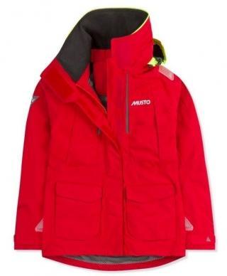 Musto Womens BR2 Offshore Jacket True Red/True Red L dámské L