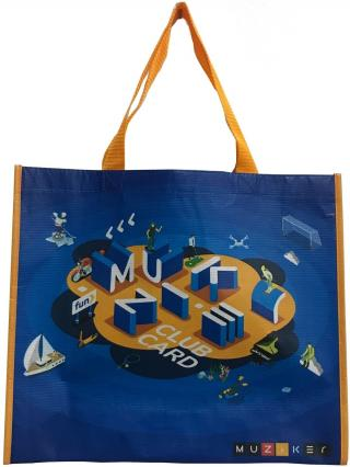 Muziker Nákupní taška střední Blue Small