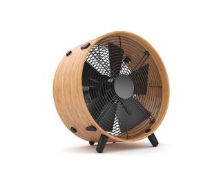 Muzza Podlahový ventilátor otto bambus Černá