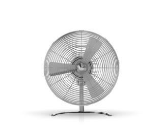 Muzza Stolní ventilátor  charly little Stříbrná